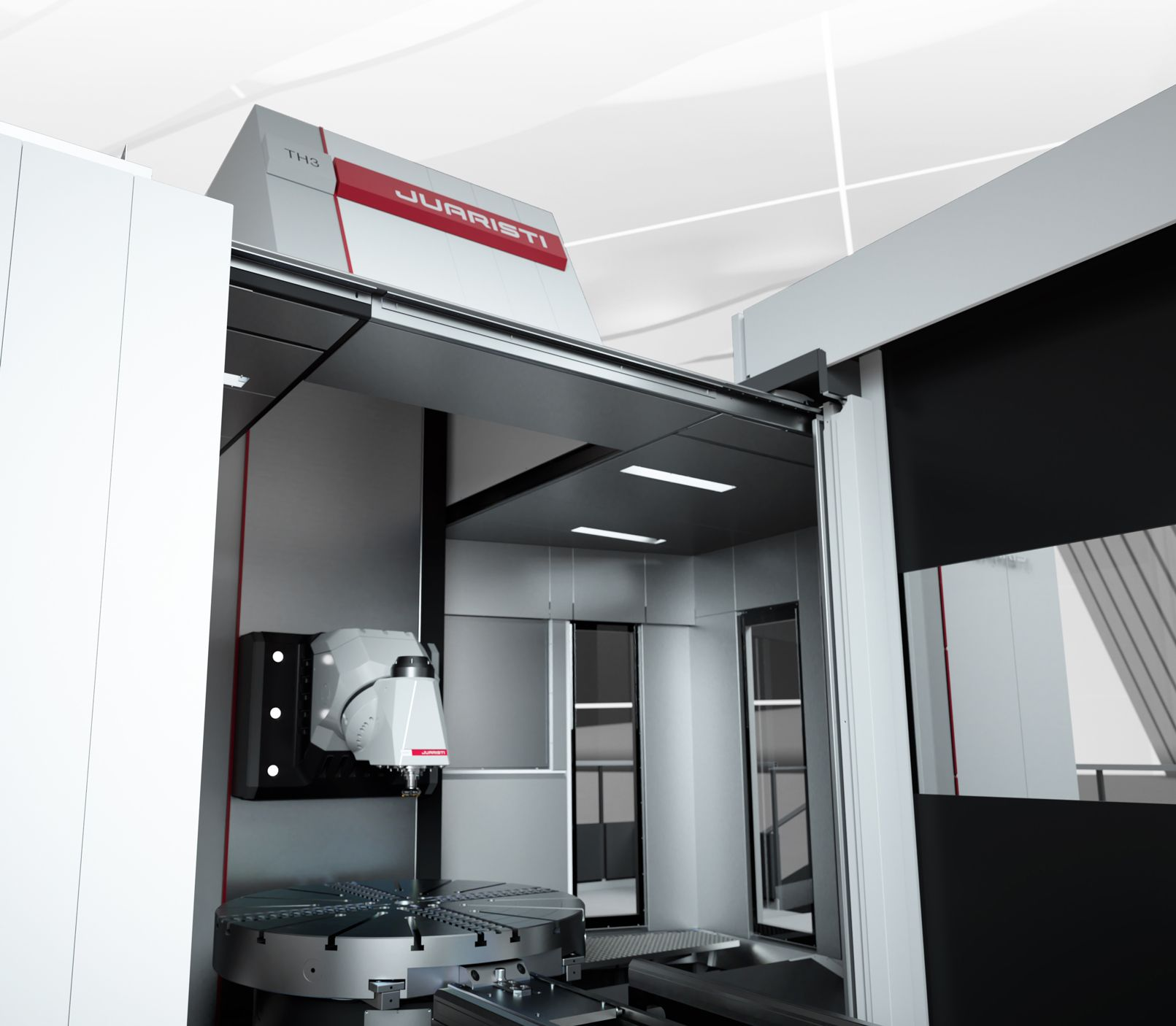 5-axis universal machining centers