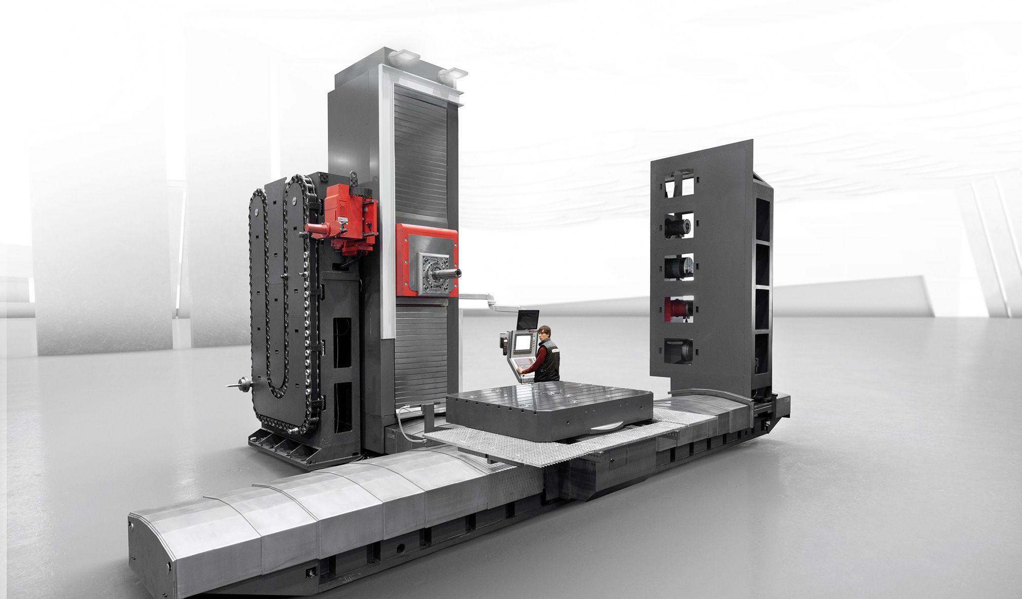 Hidromek: a mega-project in Turkey with 11 machining centers for public works machinery