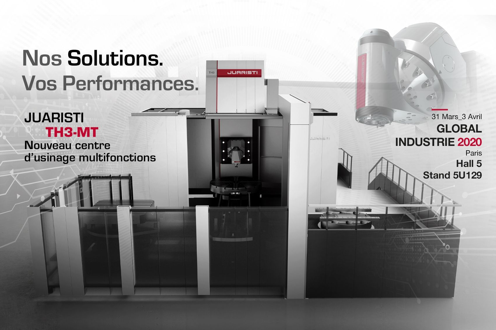 JUARISTI at Global Industrie from March 31 to April 3