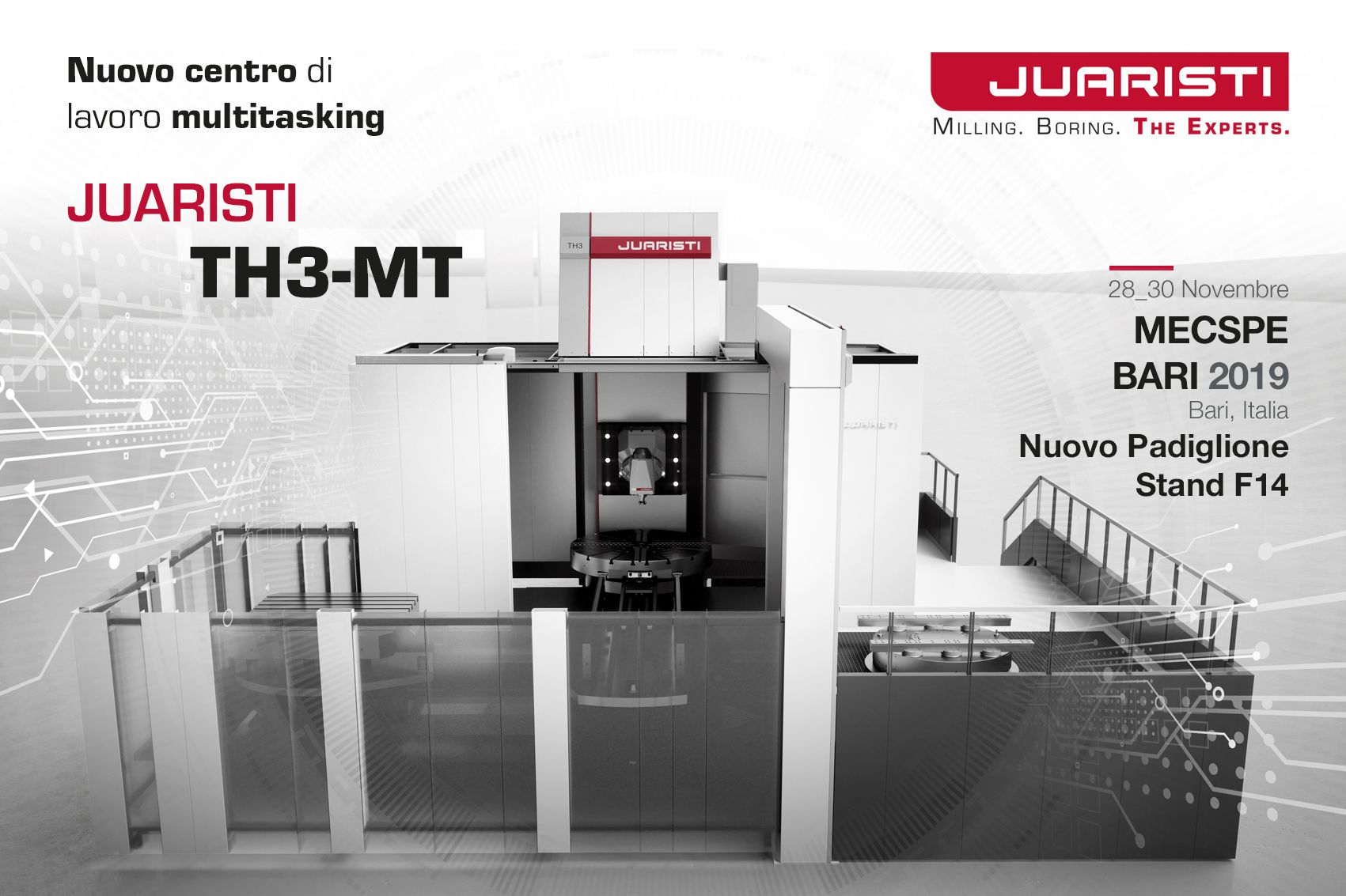 JUARISTI presents for the first time in Italy the multitasking machining center that received the highest industry accolades at the last EMO fair