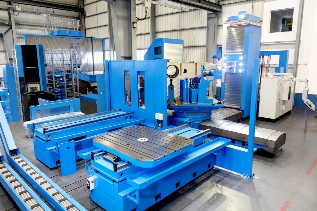 3060324 fi 1 A comprehensive milling and boring center for manufacturing large rock and mineral crushers in India