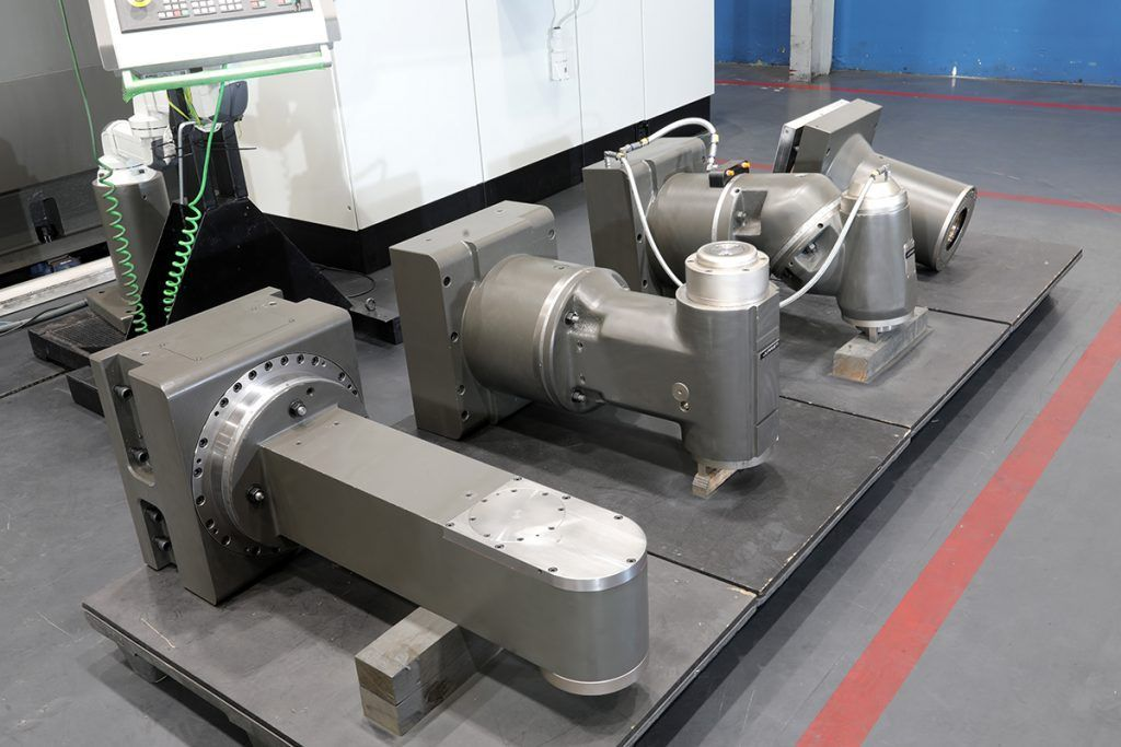 milling heads #theunstoppable: Table-type boring mill JUARISTI TX7-S for TATA Steel