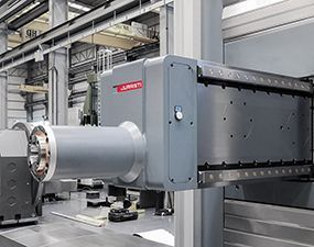 horizontal 1 #theunstoppable: MX5 Floor type milling-boring center for Voith Hydro