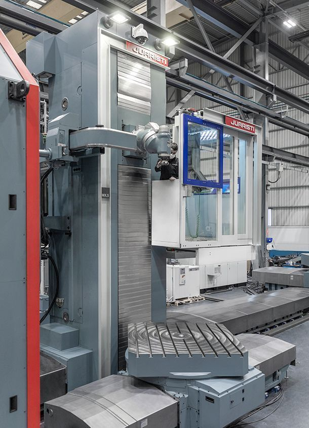 mx4 1 #theunstoppable: MX5 Floor type milling-boring center for Voith Hydro