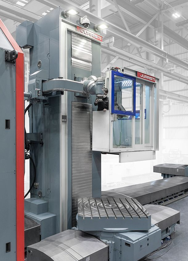 mx4 2 #theunstoppable: MX5 Floor type milling-boring center for Voith Hydro
