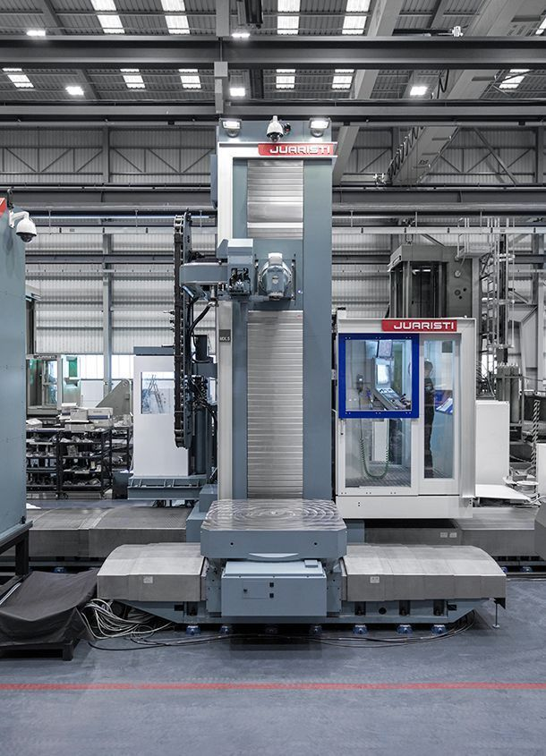 #theunstoppable: MX5 Floor type milling-boring center for Voith Hydro