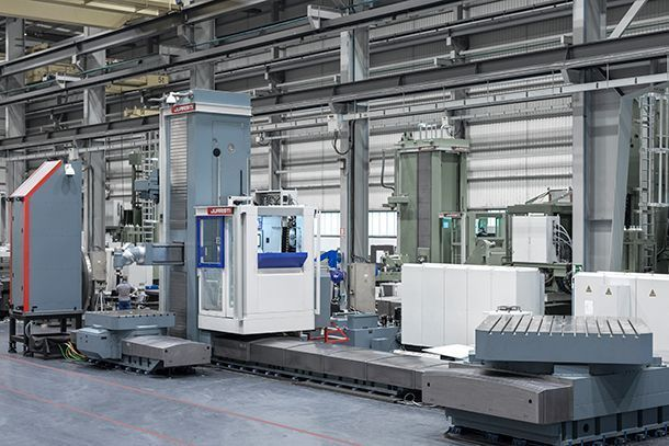 mxgeneral 1 #theunstoppable: MX5 Floor type milling-boring center for Voith Hydro