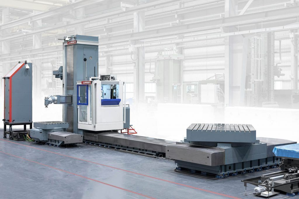 mxgeneral 3 #theunstoppable: MX5 Floor type milling-boring center for Voith Hydro