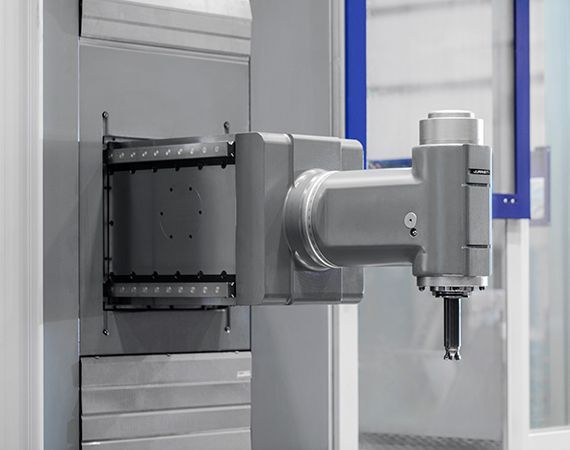 vertical 2 #theunstoppable: MX5 Floor type milling-boring center for Voith Hydro